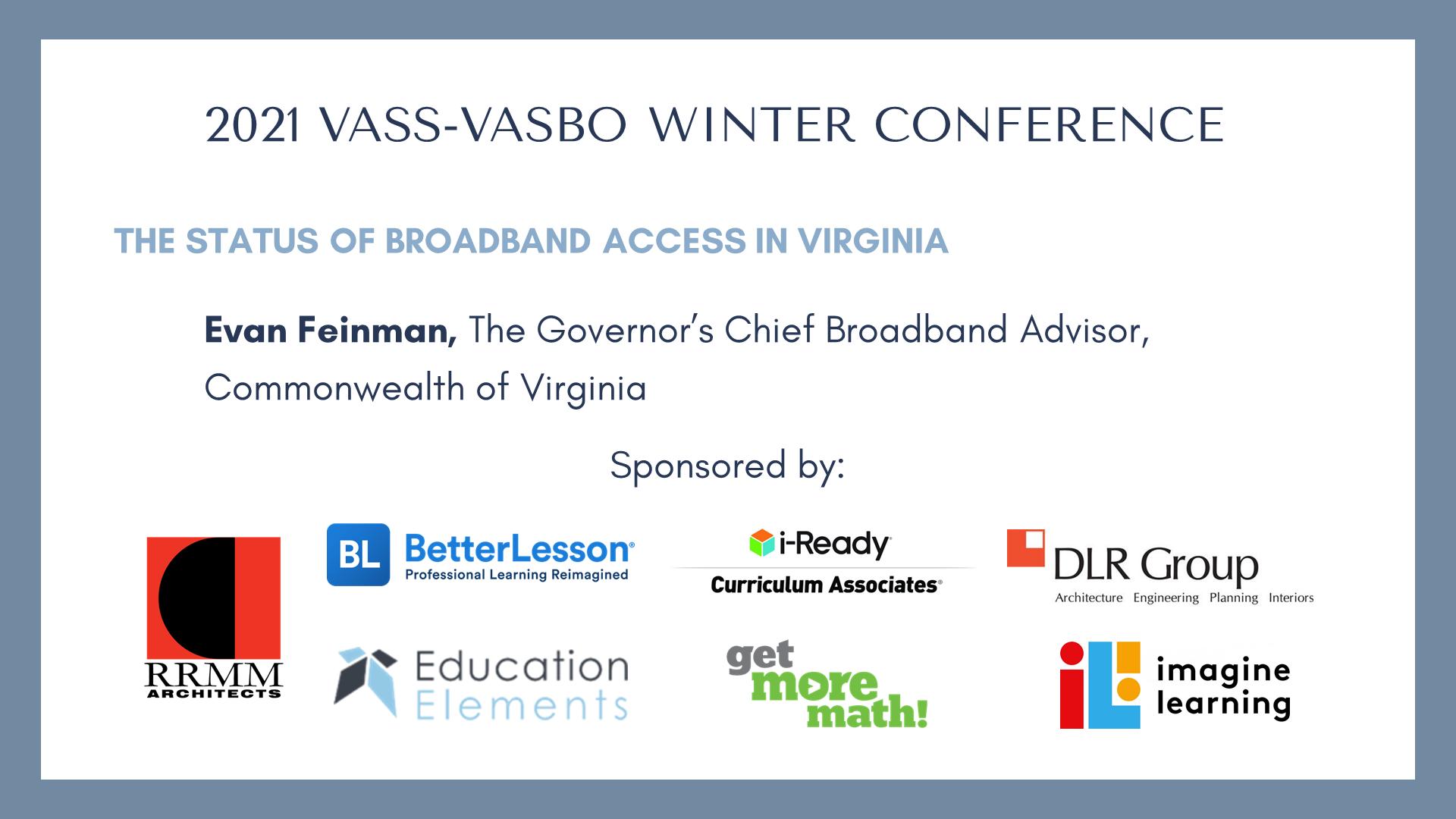 The Status of Broadband Access in Virginia