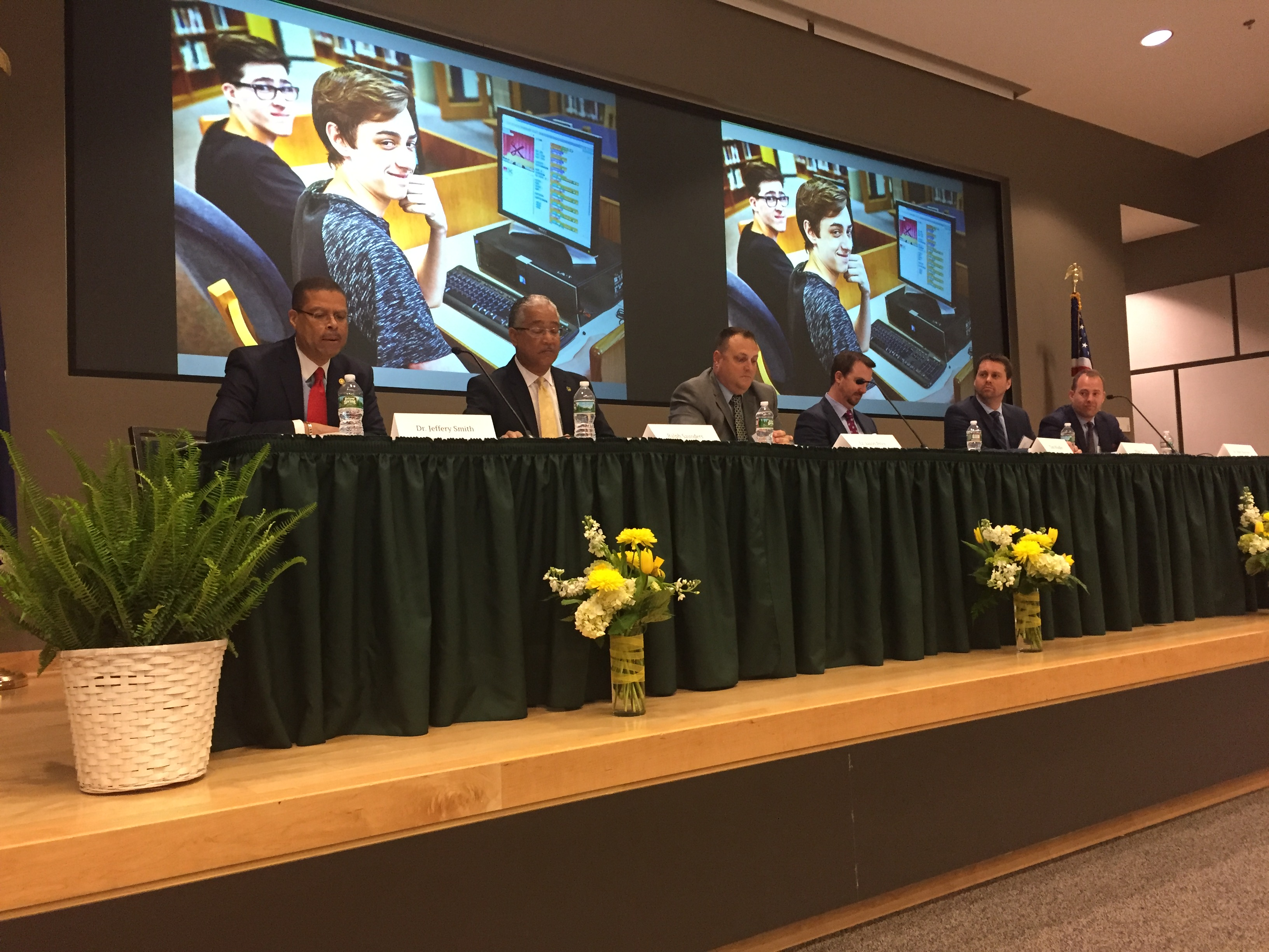 Members in the News:  Jeff Smith and Jared Cotton Showcase Career Path Programs in State Symposium