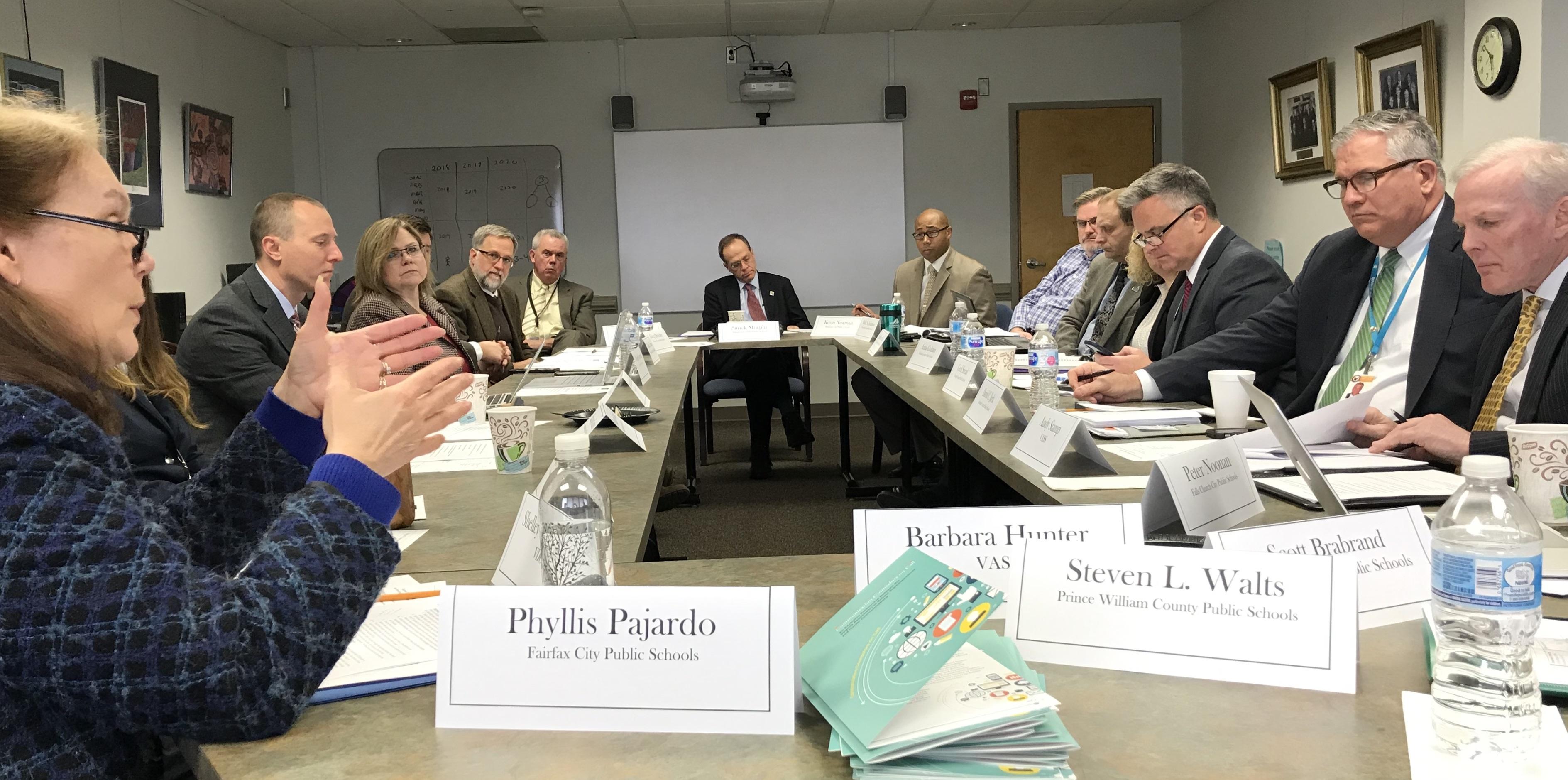 Region IV Superintendents Focus on Legislative Issues During January Meeting