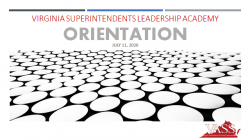 VASS Launches Successful Virginia Superintendents Leadership Academy Conference